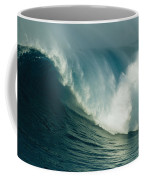 A Powerful Wave, Or Jaws, Off The North Coffee Mug