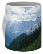 A Scenic View Of The Rocky Mountains Coffee Mug