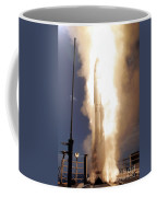 A Standard Missile 3 Is Launched Coffee Mug