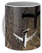 A U.s. Air Force E-3 Sentry Aircraft Coffee Mug