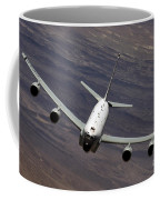 A U.s. Air Force Rc-135 Rivet Joint Coffee Mug