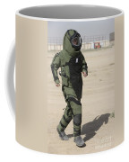 A U.s. Marine Tries Running In A Bomb Coffee Mug
