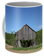 Abandoned Old Farm Building With Blue Sky Coffee Mug