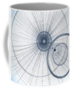 Abstract Circle Art Coffee Mug