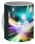 Abstract Of Stage Concert Lighting Coffee Mug by Setsiri Silapasuwanchai