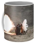 An Afghan Police Studen Fires Coffee Mug