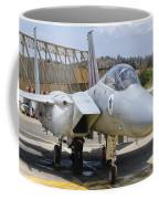An F-15c Eagle Baz Aircraft Coffee Mug
