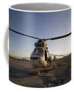An Iraqi Helicopter Sits On The Flight Coffee Mug