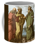 Aristotle, Ptolemy And Copernicus Coffee Mug by Science Source