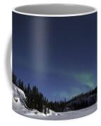 Aurora Over Vee Lake, Yellowknife Coffee Mug