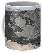 Basaltic Lava Flow From Pit Crater Coffee Mug