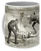 Baseball Game, 1885 Coffee Mug