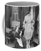 Bedroom Scene, 1920s Coffee Mug