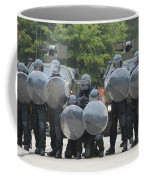 Belgian Infantry Soldiers Training Coffee Mug by Luc De Jaeger
