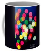 Blurred Christmas Lights Coffee Mug