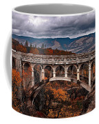 Bridge Over Autumn Coffee Mug