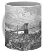 Brooklyn Bridge, 1883 Coffee Mug