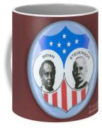 Bryan Campaign Button Coffee Mug