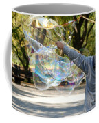 Bubble Boy Of Central Park Coffee Mug