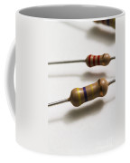 Carbon Film Resistors Coffee Mug by Photo Researchers, Inc.