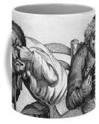Caricature Of Two Alcoholics, 1773 Coffee Mug