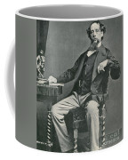 Charles Dickens, English Author Coffee Mug by Photo Researchers