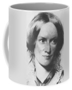 Charlotte Bronte, English Author Coffee Mug by Science Source