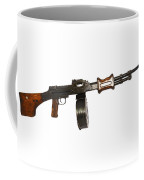Chinese Type 56 Light Machine Gun Coffee Mug by Andrew Chittock