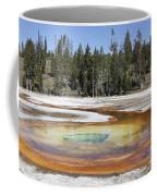 Chromatic Pool Hot Spring, Upper Geyser Coffee Mug