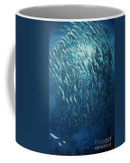 Circling School Of Jacks Trevally Coffee Mug