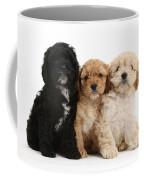 Cockerpoo Puppies Coffee Mug