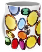 Colorful Gems Coffee Mug by Setsiri Silapasuwanchai
