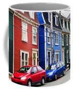 Colorful Houses In St. John's Coffee Mug