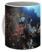 Colorful Reef Scene With Coral Coffee Mug
