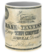 Confederate Currency Coffee Mug