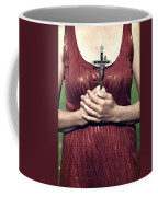 Crucifix Coffee Mug by Joana Kruse