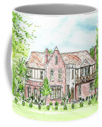 Custom House Rendering Coffee Mug