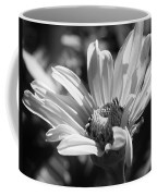 Daisy In Black And White Coffee Mug
