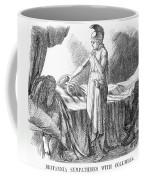 Death Of Lincoln, 1865 Coffee Mug by Granger