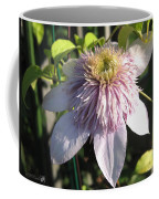 Double Clematis Named Empress Coffee Mug