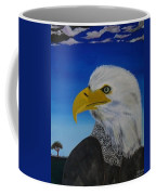 Eagle At Dusk Coffee Mug