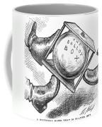 Election Cartoon, 1876 Coffee Mug