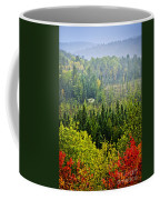 Fall Forest Rain Storm Coffee Mug