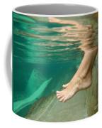 Feet Under The Water Coffee Mug