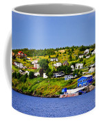 Fishing Village In Newfoundland Coffee Mug by Elena Elisseeva