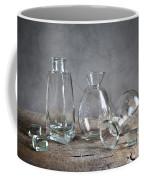 Glass Coffee Mug by Nailia Schwarz