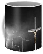 Good Friday - Crucifixion Of Jesus Bw Coffee Mug