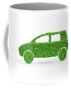 Green Car Coffee Mug
