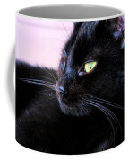 Green Eyes Coffee Mug