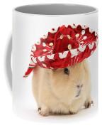 Guinea Pig Wearing A Hat Coffee Mug